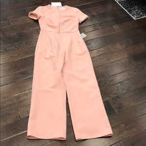 Gal Meets Glam Pants - NWT Gal Meets Glam Pink Pearl Trim Jumpsuit